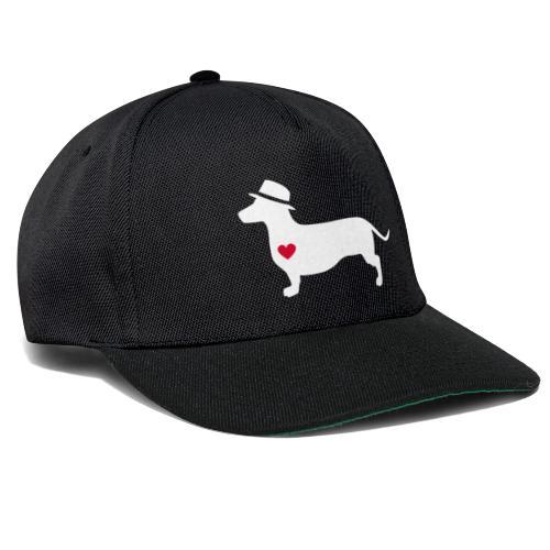 Dackelliebe -center- Der coole DonWaldino - Snapback Cap