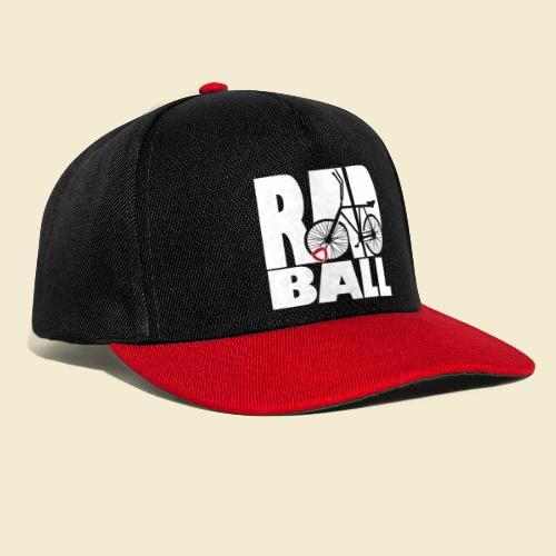 Radball | Typo - Snapback Cap