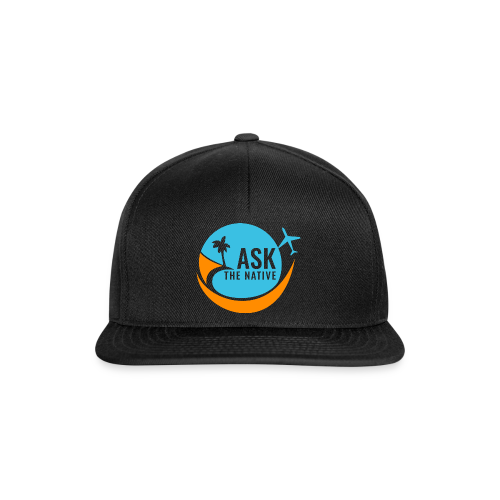 Ask the Native Original Logo - Snapback cap