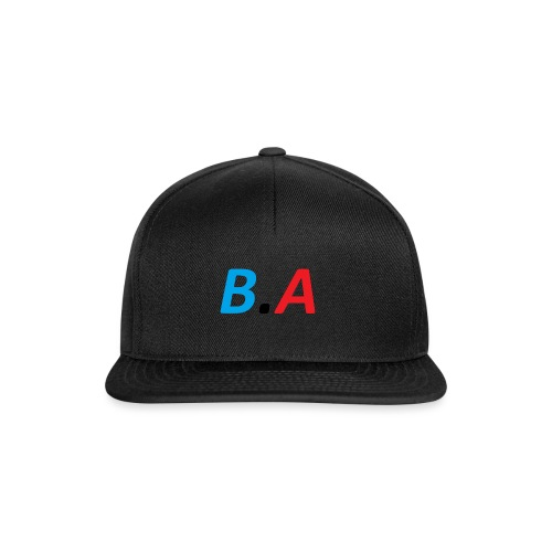 Officiele B.A merch - Snapback cap