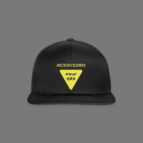 Acidvideo logo - Snapback Cap