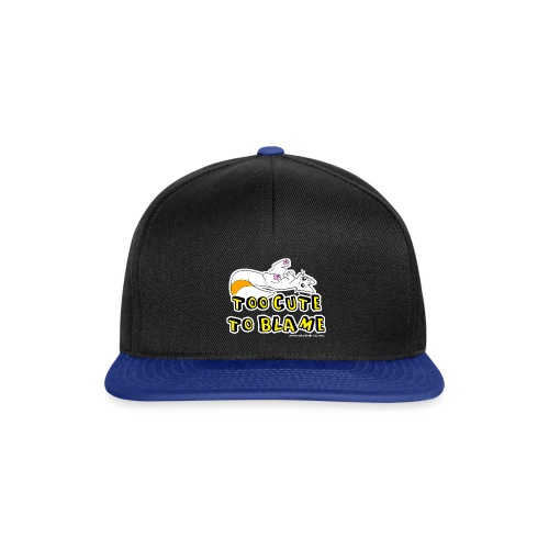 Too Cute To Blame - Snapback Cap