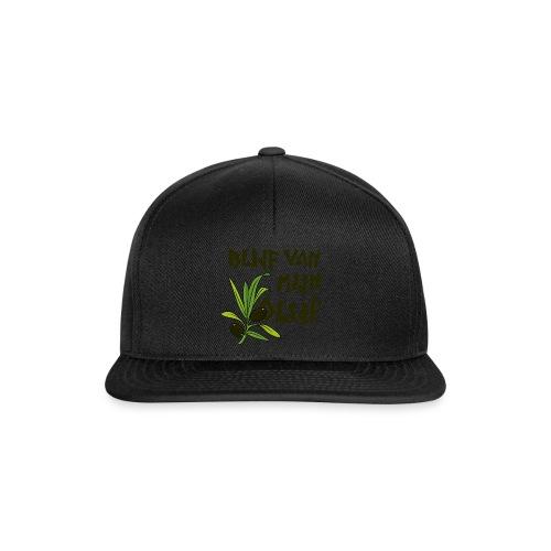 blijf van mijn olijf donker - Snapback cap