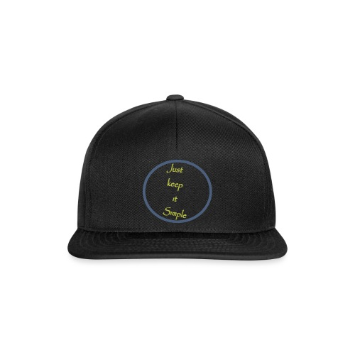 Keep it simple - Snapback Cap
