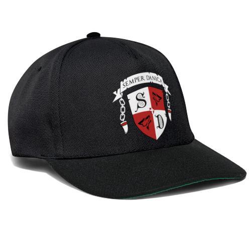 SD logo - hvide lænker - Snapback Cap