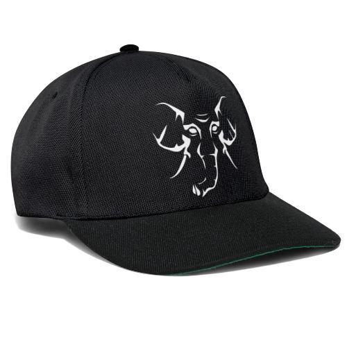 Skiclub Nairobi Elefant Frontmotiv Outline - Snapback Cap