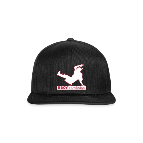 """Bboy knowledge Logo """"Multi color,make your choice"""" - Casquette snapback"""