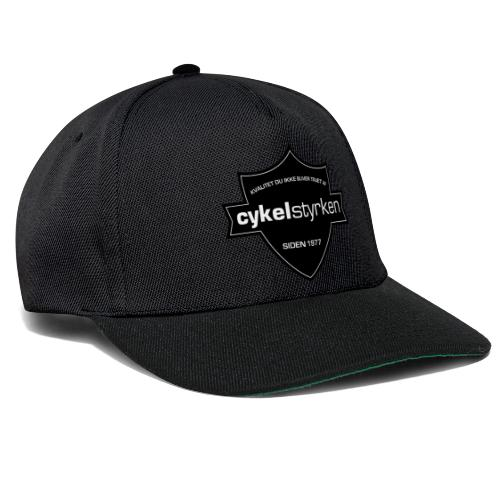 Cykelstyrken logo vaabenskjold50 - Snapback Cap