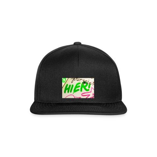 HIER! - Snapback Cap