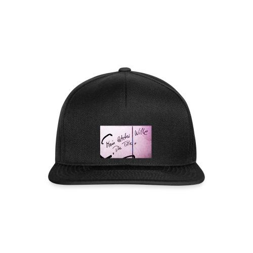 Mein letzter Wille - Snapback Cap