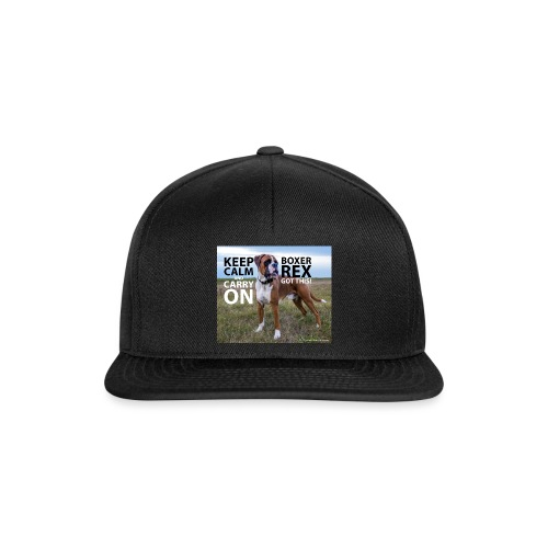 Keep calm and carry on - Snapback Cap