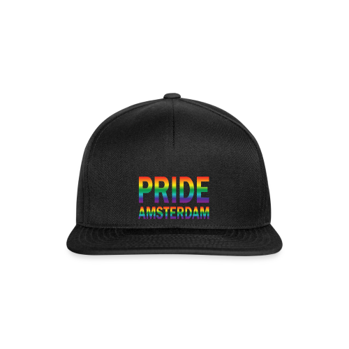 Pride Amsterdam in regenboog kleuren - Snapback cap