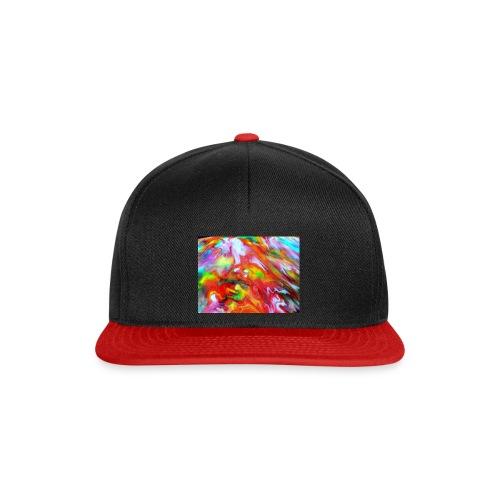 abstract 1 - Snapback Cap