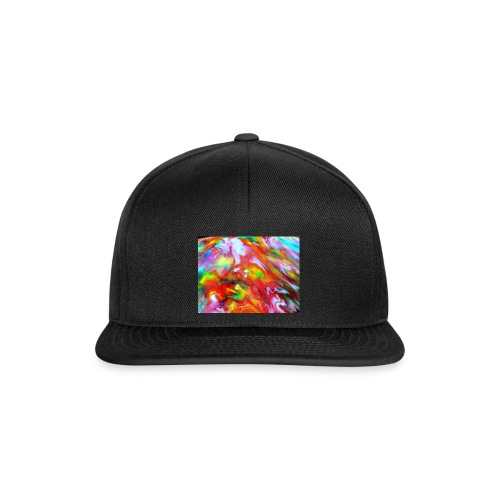 abstract 1 - Snapback Cap