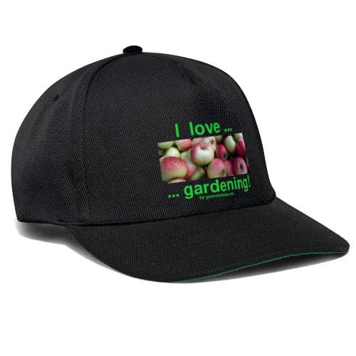 Äpfel - I love gardening! - Snapback Cap