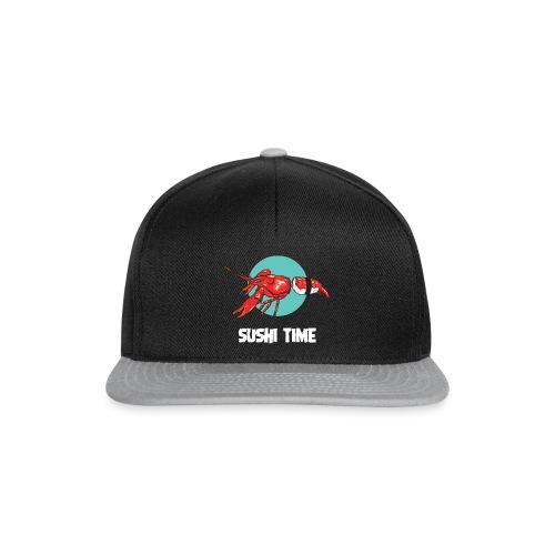 SUSHI TIME-gambero-b - Snapback Cap