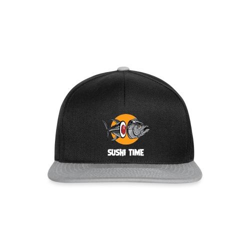 SUSHI TIME-tonno-b - Snapback Cap