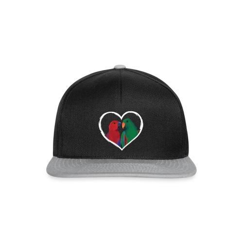parrots heart - Snapback Cap
