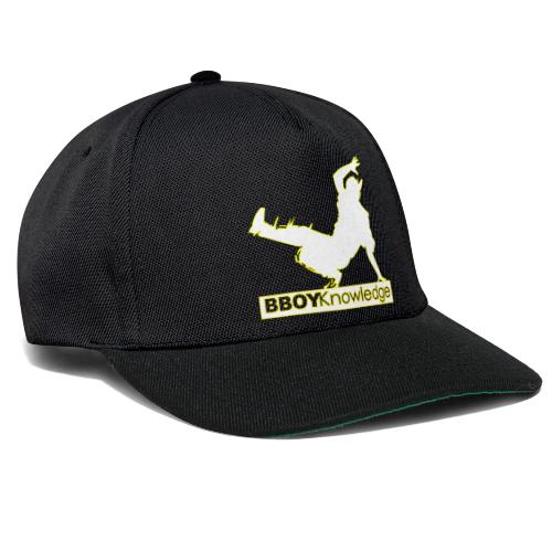 Bboy Knowledge Logo Yellow&White - Casquette snapback