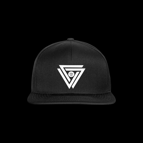 08 logo complet withe - Casquette snapback