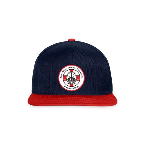 Aufkleber_rund_rot_Intern - Snapback Cap