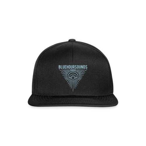 New Blue Hour Sounds logo triangle - Snapback Cap