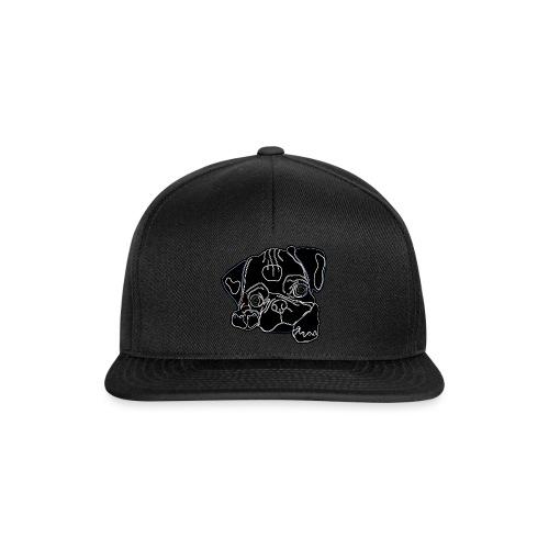 Pug Face - Snapback Cap