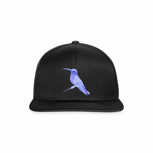 Hummingbird with ballpoint pen - Snapback Cap