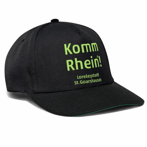 Komm Rhein! Loreleystadt St. Goarshausen - Snapback Cap