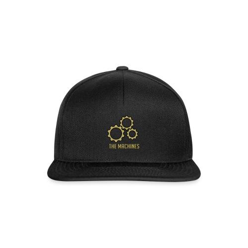 The Machines Logo Gold - Snapback-caps