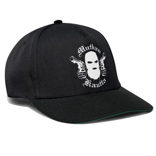 Mutkan Kautta remix - valkoinen printti - Snapback Cap