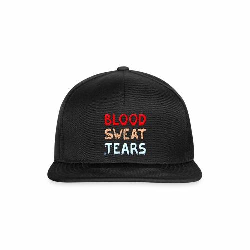 Blood-Sweat-Tears - Snapback Cap