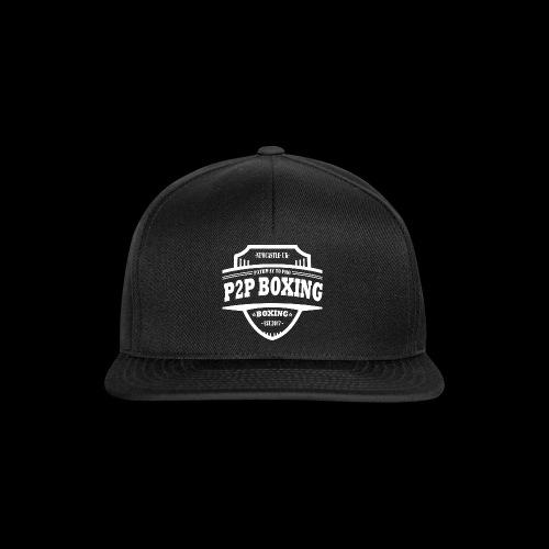 P2P Boxing White Logo - Snapback Cap