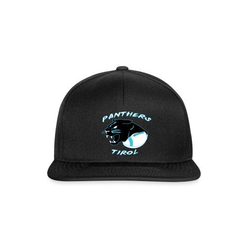 Panthers Logo 2014 Schriftzug Dark png - Snapback Cap