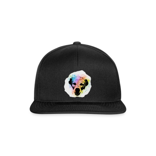 Golden Retriever Aquarell - Snapback Cap