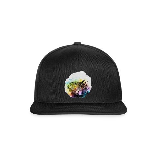 Leguan Aquarell - Snapback Cap