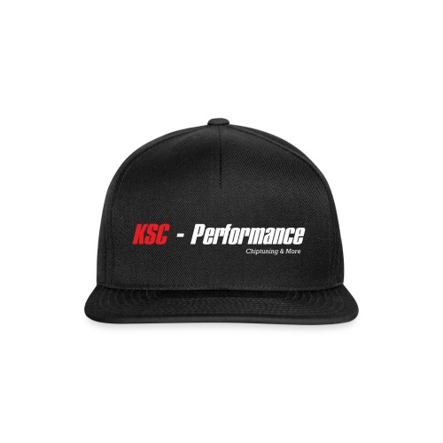 ksc performance white pure png - Snapback Cap
