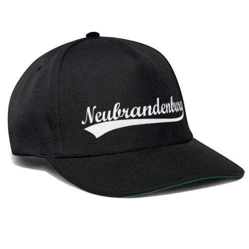 Neubrandenburg Weiß - Snapback Cap