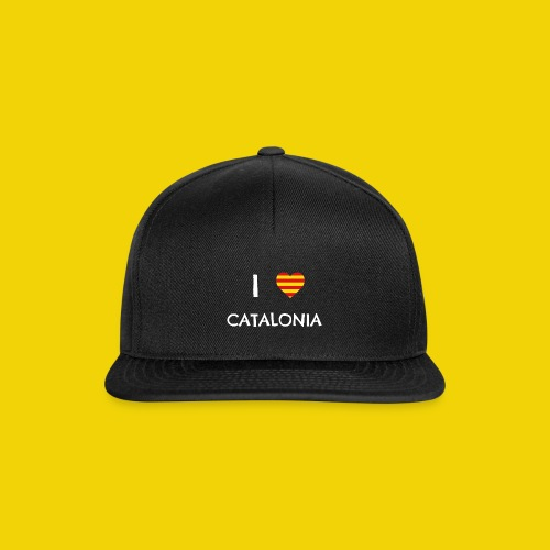 I Love Catalonia - Snapback Cap