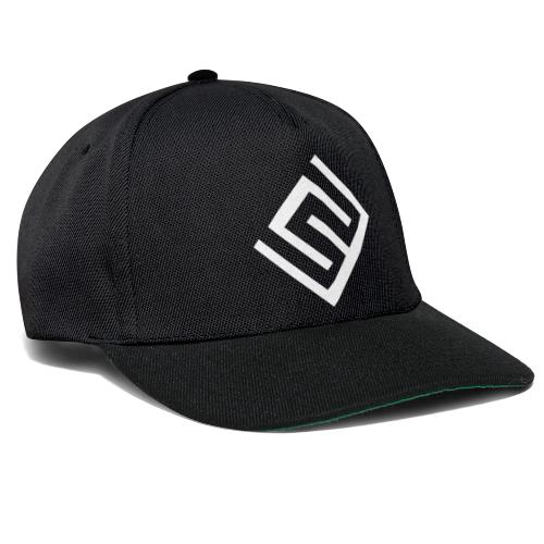 CW logo vit - Snapbackkeps