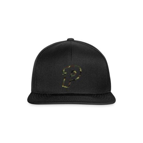 Camo P - Snapback Cap