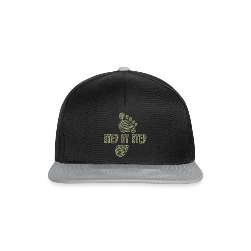 Step by Step - Traveller`s cool textiles and gifts - Snapback Cap