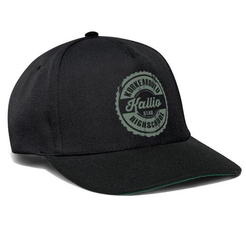 22V-KALLION KORKEAKOULU - Tekstiilit ja lahjat - Snapback Cap