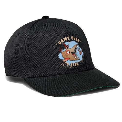 10-37 GAME OVER FISH - Peli on pelattu kala - Snapback Cap
