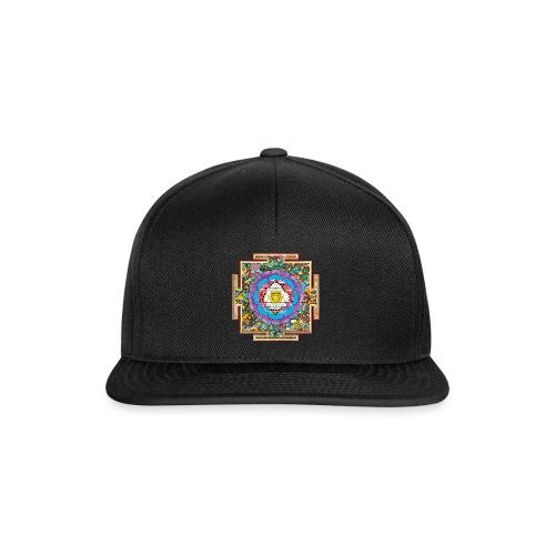 buddhist mandala - Snapback Cap