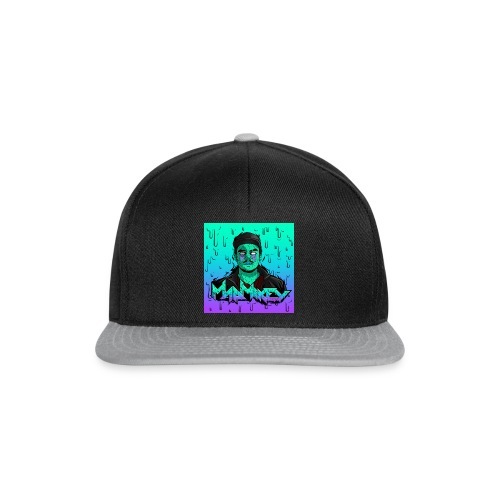 MadMikey Grime Art Sticky Green - Snapback cap