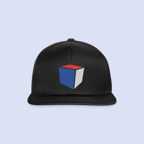 Cube Minimaliste - Casquette snapback