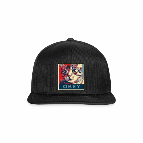 Obey the Cat! - Snapback Cap