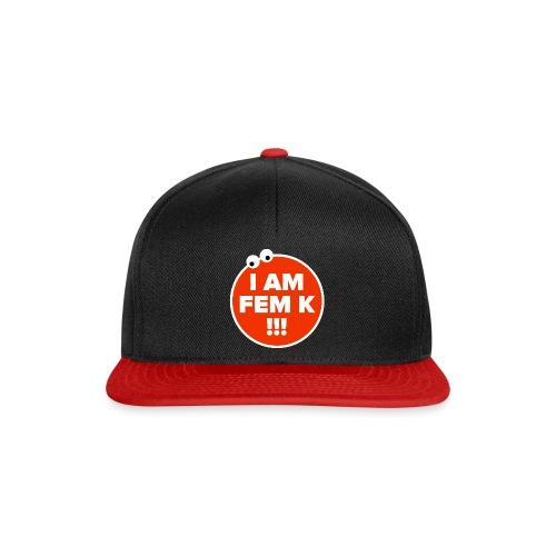 I AM FEM K - Snapback Cap