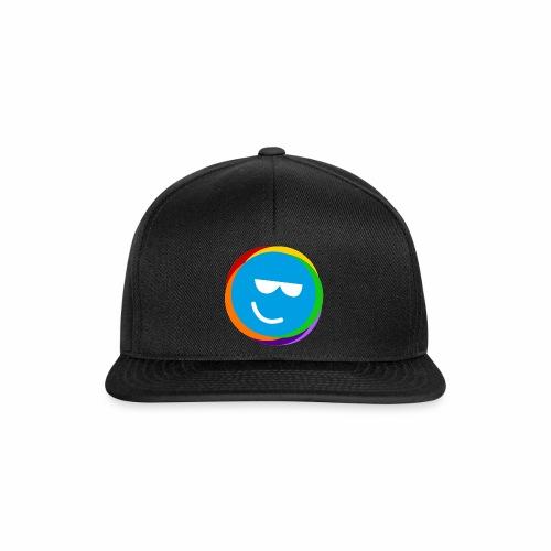 my better life - happy smiley blue - Snapback Cap